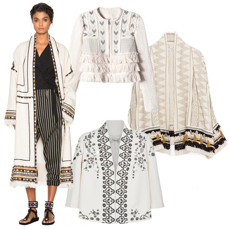 The Everyday Editor Embroidered Coat
